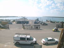 Beaver Island Realty's Webcam view of Paradise Bay across from the Beaver Island Ferry Dock